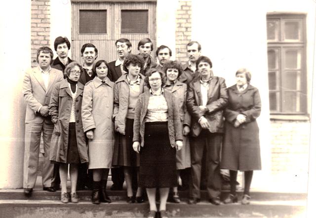Мой выпуск - 1982 год (вечерняя школа № 205)