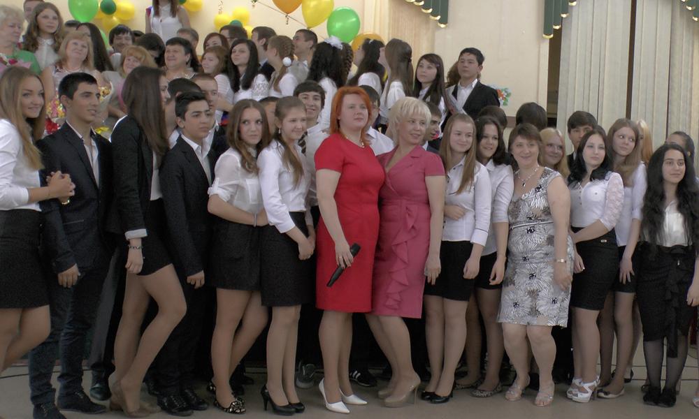 Учителя с выпускниками